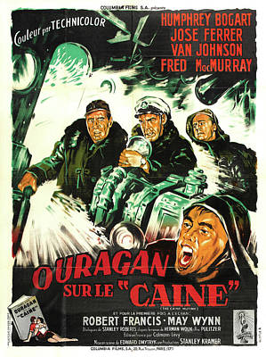 Caravaggio - The Caine Mutiny 2-1954 by Stars on Art