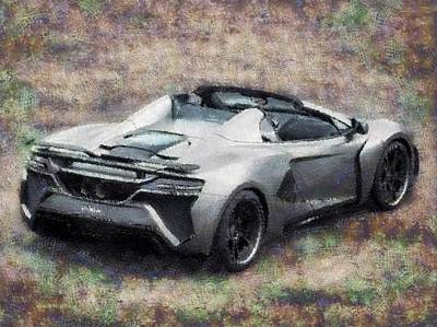 Transportation Digital Art - The Car We Like to Drive by Mario Carini