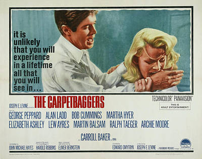 Royalty-Free and Rights-Managed Images - The Carpetbaggers, with Carroll Baker, 1964 by Stars on Art