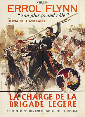 Royalty-Free and Rights-Managed Images - The Charge of the Light Brigade, with Errol Flynn, 1936 by Stars on Art