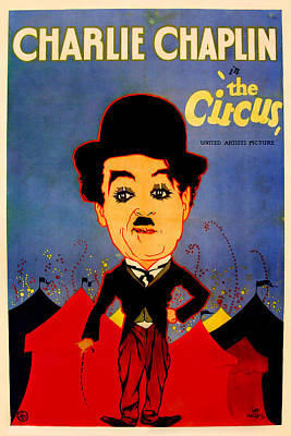 Royalty-Free and Rights-Managed Images - The Circus, with Charlie Chaplin, 1928 by Stars on Art