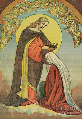 Sean - THE CORONATION OF OUR BLESSED LADY f1 by Historic illustrations