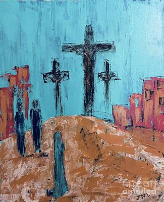 Wild And Wacky Portraits - The Crucifixion by Jennifer Nease