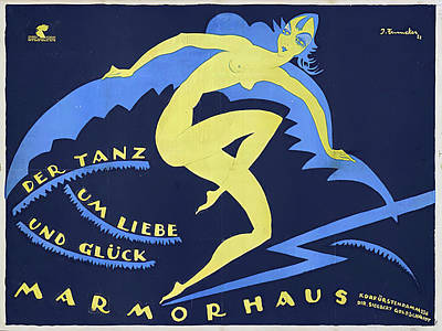 Royalty-Free and Rights-Managed Images - The Dance of Love, a German film, 1921 by Stars on Art