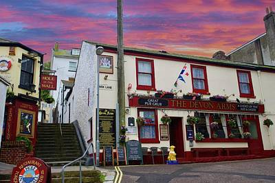 Purely Purple - The Devon Arms, Torquay, Devon, England. by Joe Vella