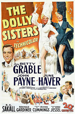 Royalty-Free and Rights-Managed Images - The Dolly Sisters, 1945 by Stars on Art