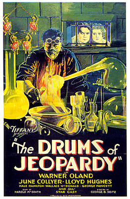Mixed Media Royalty Free Images - The Drums of Jeopardy poster 1931 Royalty-Free Image by Stars on Art