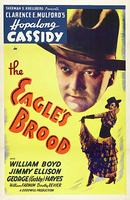 Caravaggio - The Eagles Brood -b, with Hopalong Cassidy, 1935 by Stars on Art