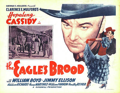 The Champagne Collection - The Eagles Brood with Hopalong Cassidy, 1935 by Stars on Art