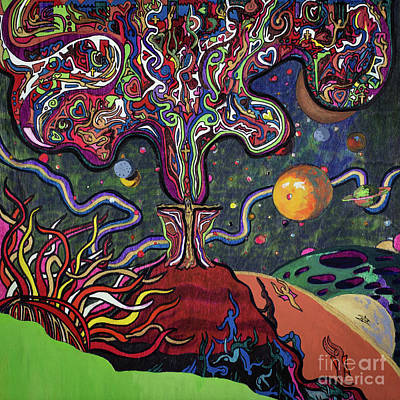 Featured Tapestry Designs - The Edge of Existence by Robert Yaeger