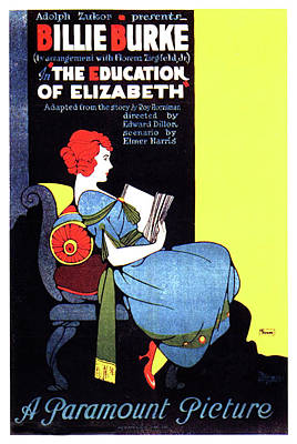 Royalty-Free and Rights-Managed Images - The Education of Elizabeth, with Billie Burke, 1921 by Stars on Art