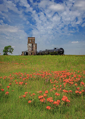 Royalty-Free and Rights-Managed Images - The End of the Line - Feterita, Kansas by Bridget Calip