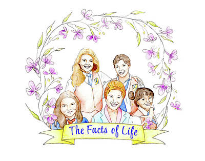 Painting - The Facts of Life by Kim W Nolan