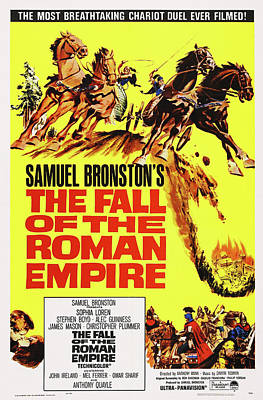 Royalty-Free and Rights-Managed Images - The Fall of the Roman Empire 2, with Sophia Loren and Alec Guinness, 1964 by Stars on Art