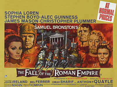 Royalty-Free and Rights-Managed Images - The Fall of the Roman Empire, with Sophia Loren and Stephen Boyd, 1964 by Stars on Art