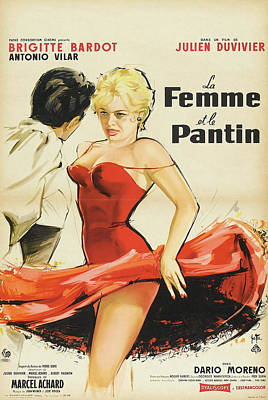 Royalty-Free and Rights-Managed Images - The Female, with Brigitte Bardot, 1959 by Stars on Art