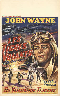 Royalty-Free and Rights-Managed Images - The Flying Tigers, 1942 by Stars on Art