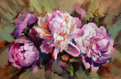 Painting - The fragrance of tenderness. by Alexey Shalaev