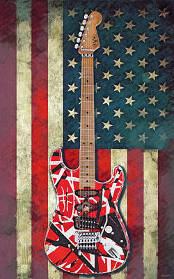David Bowie - The Frankenstrat by Mal Bray