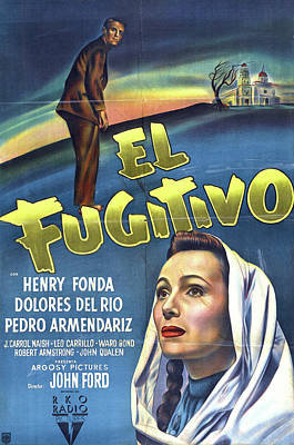 Royalty-Free and Rights-Managed Images - The Fugitive, with Henry Fonda, 1947 by Stars on Art