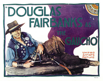 Royalty-Free and Rights-Managed Images - The Gaucho - Douglas Fairbanks, 1927 by Stars on Art