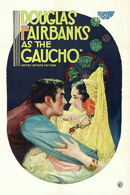 Granger - The Gaucho, with Douglas Fairbanks, 1927 by Stars on Art