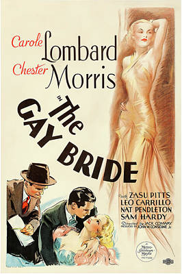 Royalty-Free and Rights-Managed Images - The Gay Bride, 1934 by Stars on Art