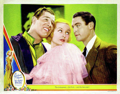Caravaggio - The Gay Bride, with Carole Lombard and Chester Morris, 1934 by Stars on Art