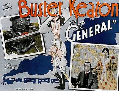 Royalty-Free and Rights-Managed Images - The General, with Buster Keaton, 1927 by Stars on Art