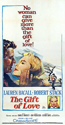 Kim Fearheiley Photography - The Gift of Love, with Lauren Bacall and Robert Stack, 1958 by Stars on Art