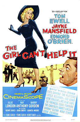 Caravaggio - The Girl Cant Help It, with Tom Ewell and Jayne Mansfield, 1956 by Stars on Art
