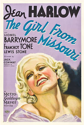 Royalty-Free and Rights-Managed Images - The Girl From Missouri - 1934 by Stars on Art