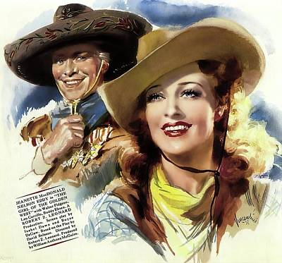 Royalty-Free and Rights-Managed Images - The Girl of the Golden West - 1938 by Stars on Art