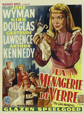 Royalty-Free and Rights-Managed Images - The Glass Menagerie, with Jane Wyman, 1950 by Stars on Art