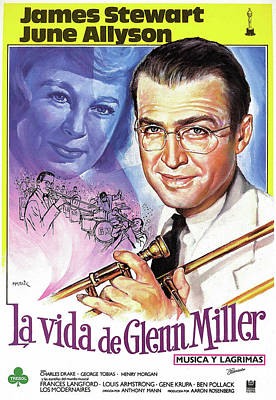 Peacock Feathers - The Glenn Miller Story 1954 by Stars on Art