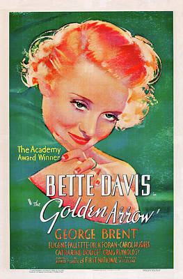 Royalty-Free and Rights-Managed Images - The Golden Arrow - 1936 by Stars on Art