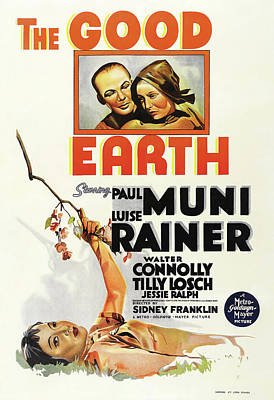 Royalty-Free and Rights-Managed Images - The Good Earth, with Paul Muni and Luise Rainer, 1937 by Stars on Art
