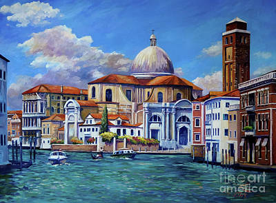 Royalty-Free and Rights-Managed Images - The Grand Canal, Venice by John Clark