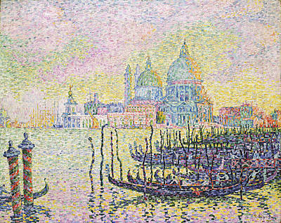 Space Photographs Of The Universe - The Grand Canal, Venice by Paul Victor Signac