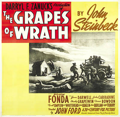 Royalty-Free and Rights-Managed Images - The Grapes of Wrath, with Henry Fonda, 1940 by Stars on Art