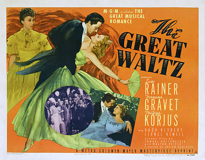 Royalty-Free and Rights-Managed Images - The Great Waltz, with Luise Rainer, 1938 by Stars on Art