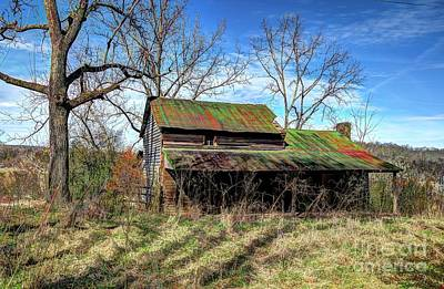 Fruits And Vegetables Still Life - The Green Tin Roof by Paul Mashburn