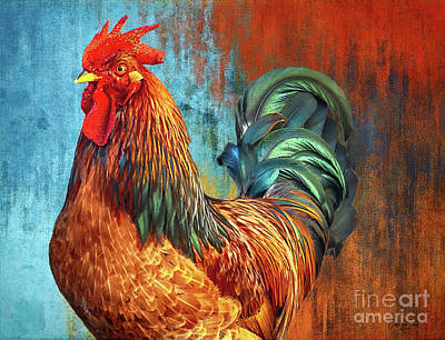 Pediatricians Office Rights Managed Images - The Handsome Rooster Royalty-Free Image by Tina LeCour