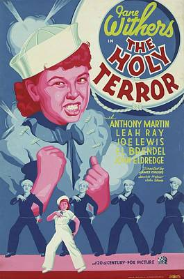 Royalty-Free and Rights-Managed Images - The Holy Terror, 1937 by Stars on Art