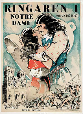 Royalty-Free and Rights-Managed Images - The Hunchback of Notre Dame, 1923 by Stars on Art
