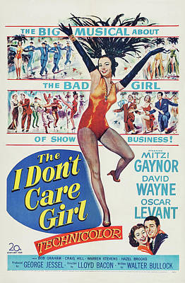 Travel - The I Dont Care Girl 2, with Mitzi Gaynor, 1953 by Stars on Art
