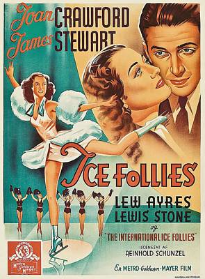 Royalty-Free and Rights-Managed Images - The Ice Follies of 1939 by Stars on Art