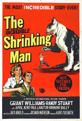 Mans Best Friend - The Incredible Shrinking Man 1957 by Stars on Art