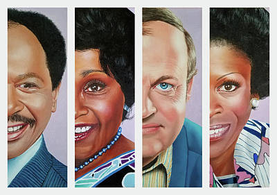 Painting - The Jeffersons by Vic Ritchey