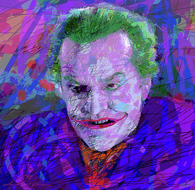 Royalty-Free and Rights-Managed Images - The Joker - Batman 1996 by David Lloyd Glover